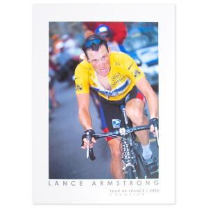 2003 Tour de France - Lance Armstrong at Luz-Ardiden