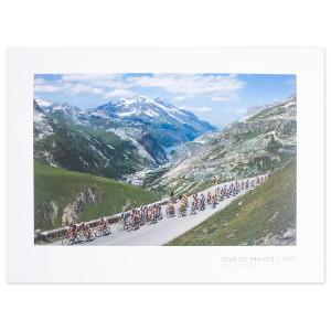 2007 Tour de France - Val d'Isere Poster