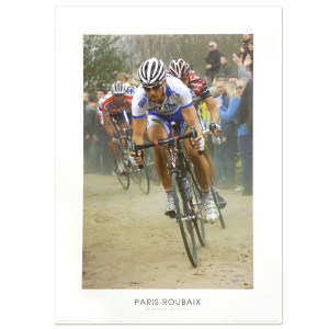 2006 Paris-Roubaix - Tom Boonen Poster