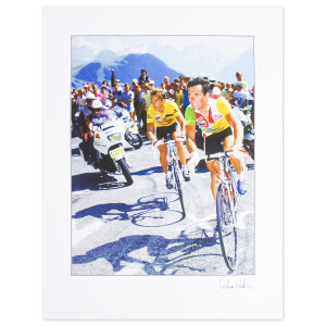 1986 Tour de France - LeMond & Hinault Poster