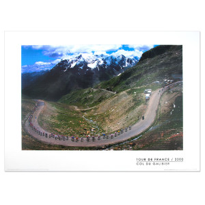 2000 Tour de France - Col du Galibier Poster