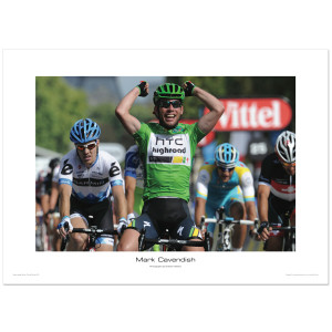Mark Cavendish - Green Jersey Winner, Tour De France 2011