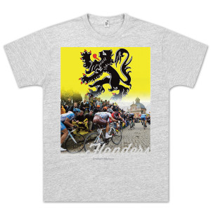 Tour of Flanders Light Grey T-Shirt