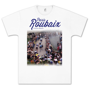 Paris Roubaix White T-Shirt