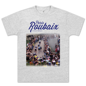 Paris Roubaix Light Grey T-Shirt