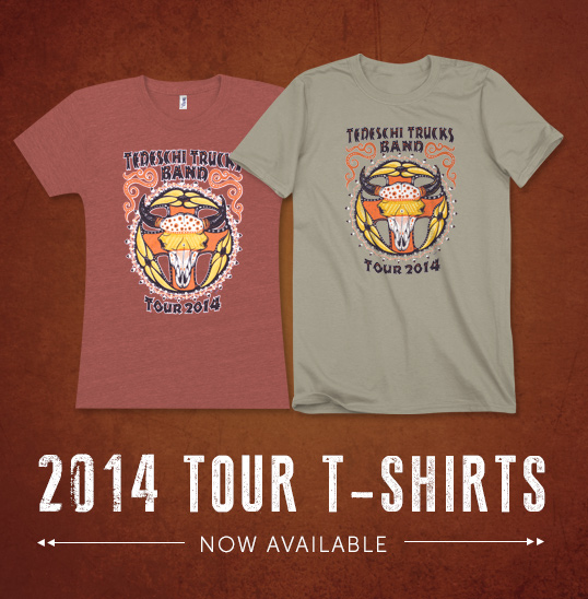 Click here to order your new Tour T-Shirt!