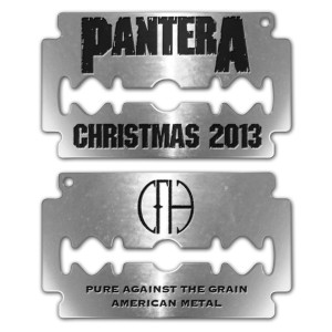 Pantera Christmas 2013 Ornament