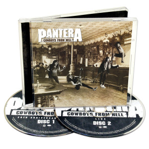 Cowboys from Hell 20th Anniversary Expanded CD