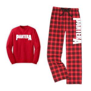 Pantera Logo PJ Set