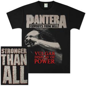 Pantera Skull Stronger T-Shirt