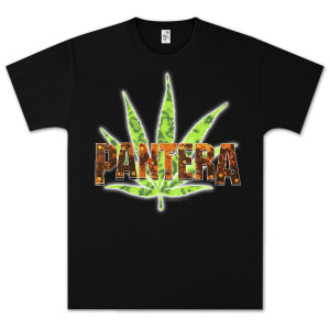 Pantera Vintage Leaf T-Shirt
