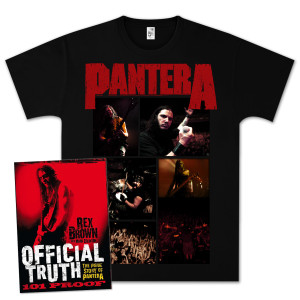 Pantera - Official Truth, 101 Proof Book Bundle