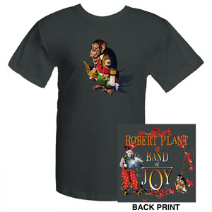 Robert Plant Asphalt Monkey T-Shirt