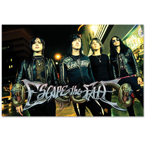 Escape the Fate Red Light Poster