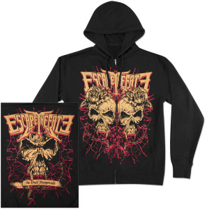 Escape The Fate In Plants Zip Hoodie