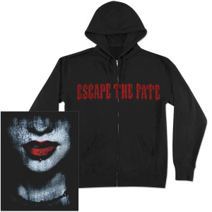 Escape the Fate Lips of Death Full-Zip Hoodie