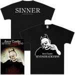 Corey Taylor Seven Deadly Sins Book and T-Shirt