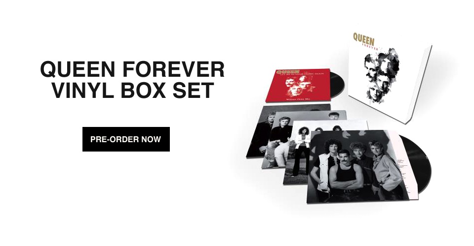 Queen Forever LP Box Set