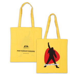 Are You Ready to Freddie?! Yellow Tote