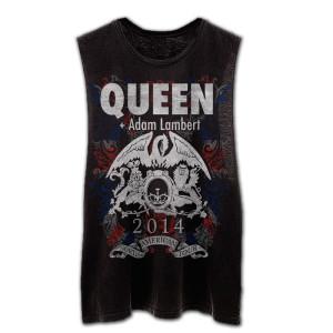 Queen + Adam Lambert Girls Tank Top