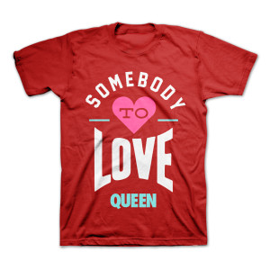 """QUEEN """"Somebody to Love"""" T-Shirt"""