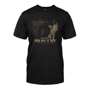 Messenger of the Gods Black T-Shirt