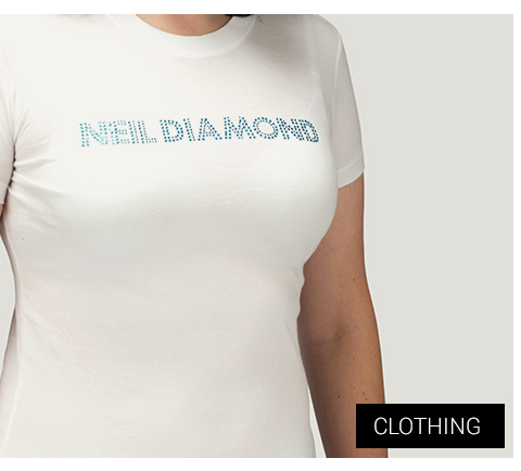 Neil Diamond Clothing T-Shirts