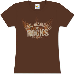 Neil Diamond Rocks Studded Women's Tee
