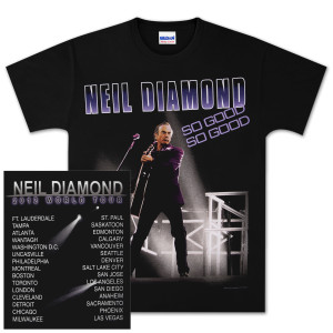 So Good World Tour 2012 T-Shirt