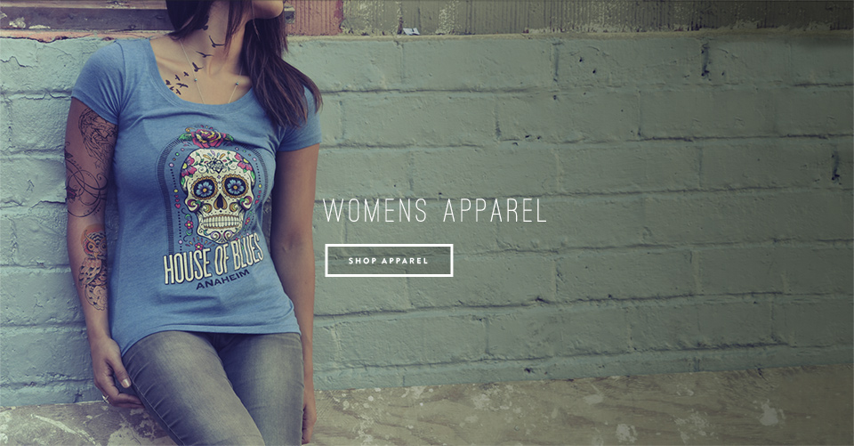 House of Blues Womens Apparel T-Shirts