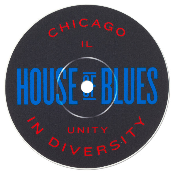 Record Label Sticker - Chicago | Shop the House of Blues