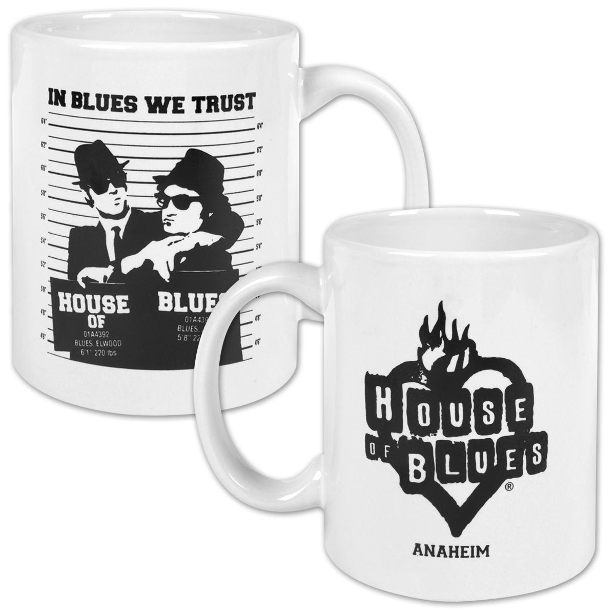Jake and Elwood Mug Shot Coffee Mug - Anaheim
