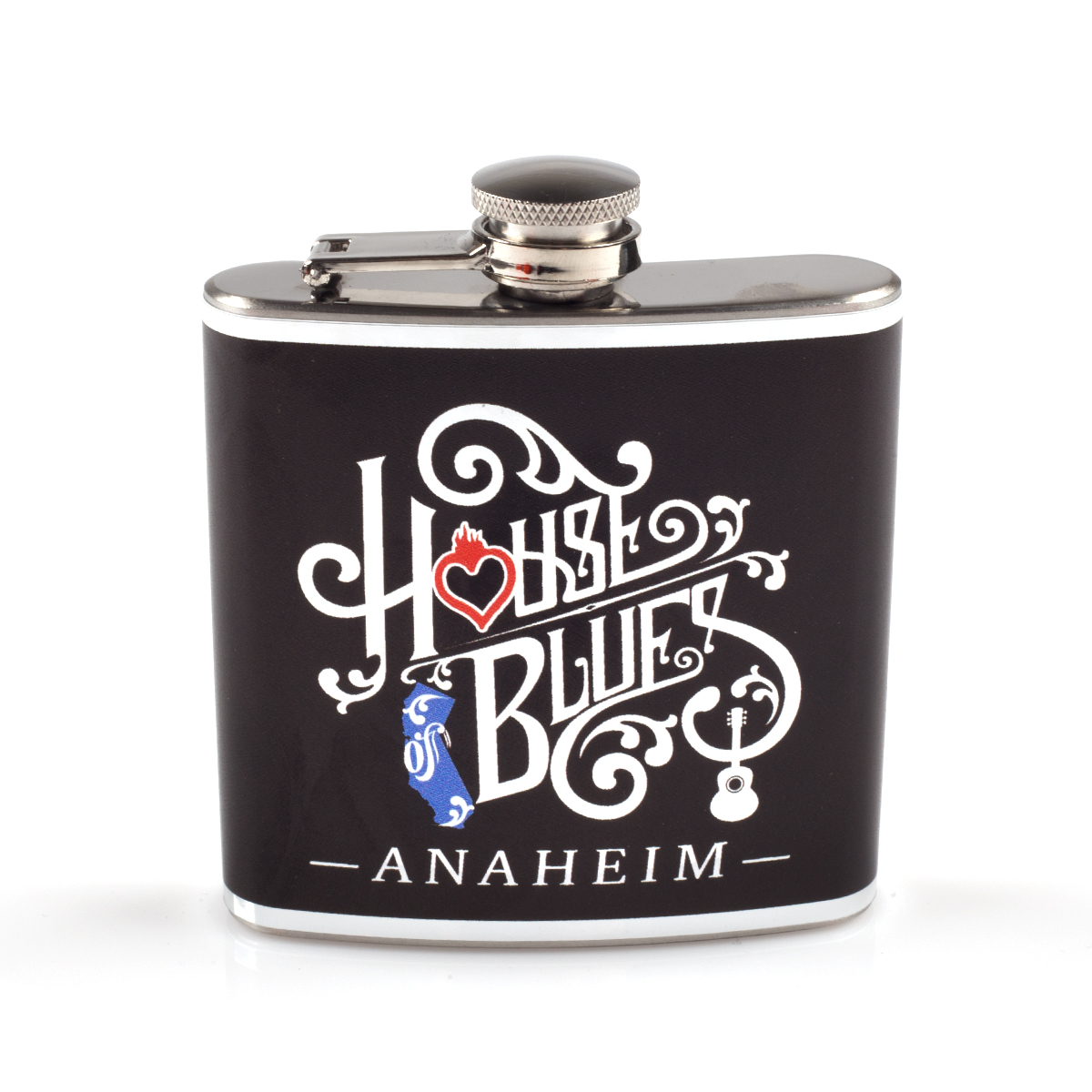 Wrapped Home Hip Flask - Anaheim