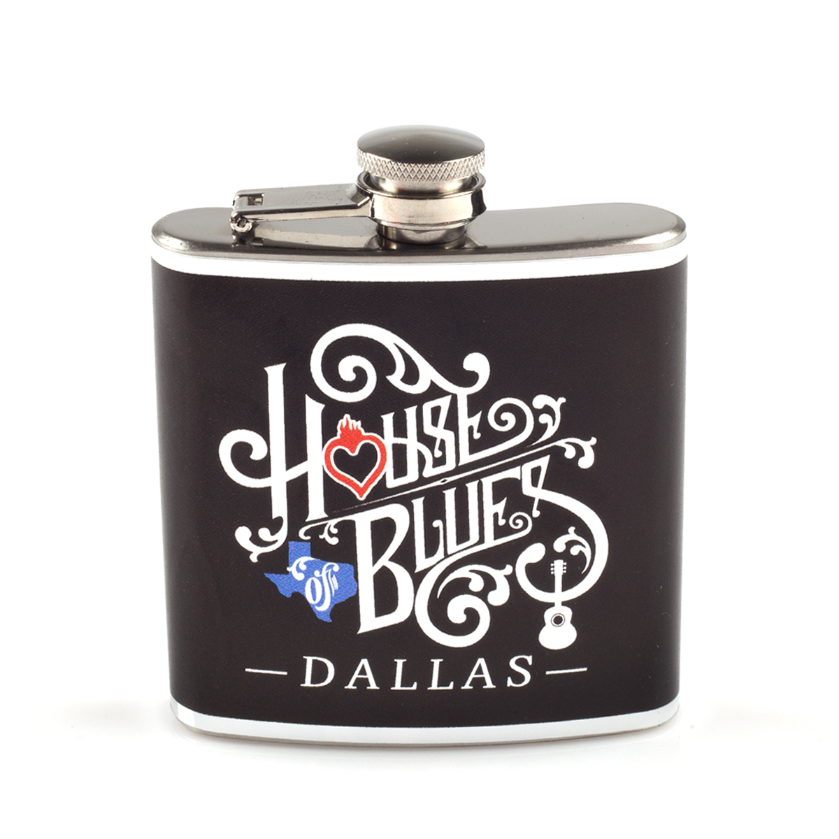 Wrapped Home Hip Flask - Dallas