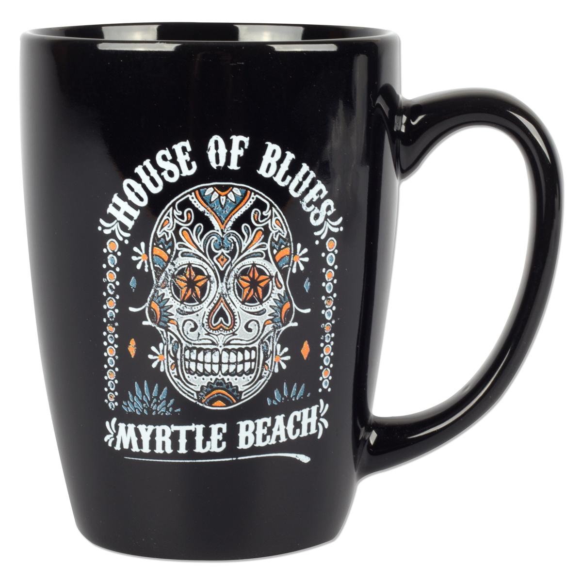 Sugar Skull Mug - Myrtle Beach