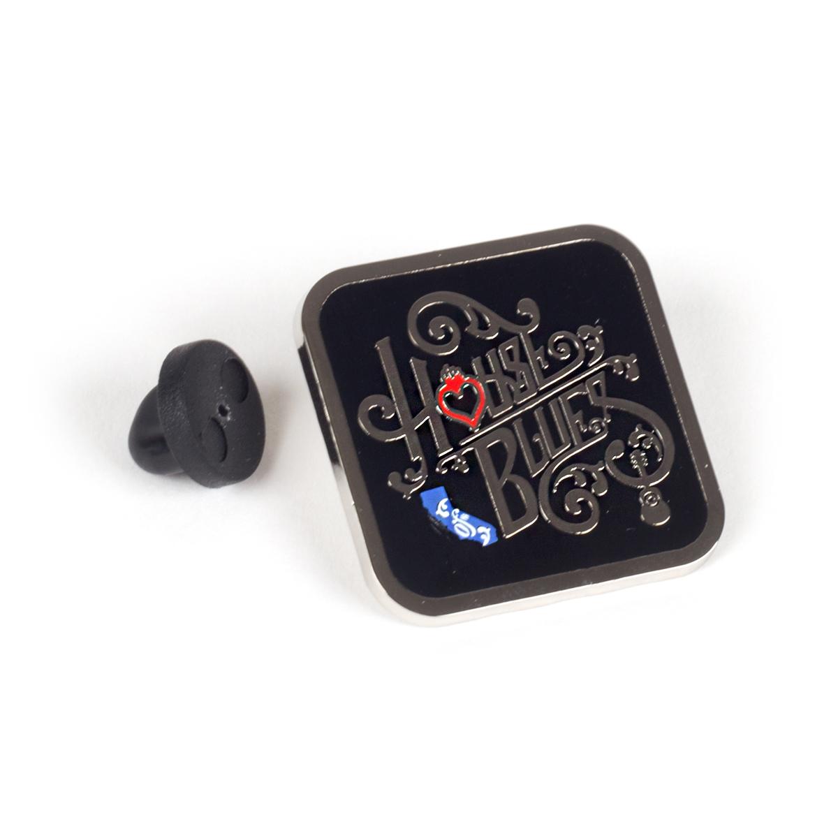 Square Home Pin