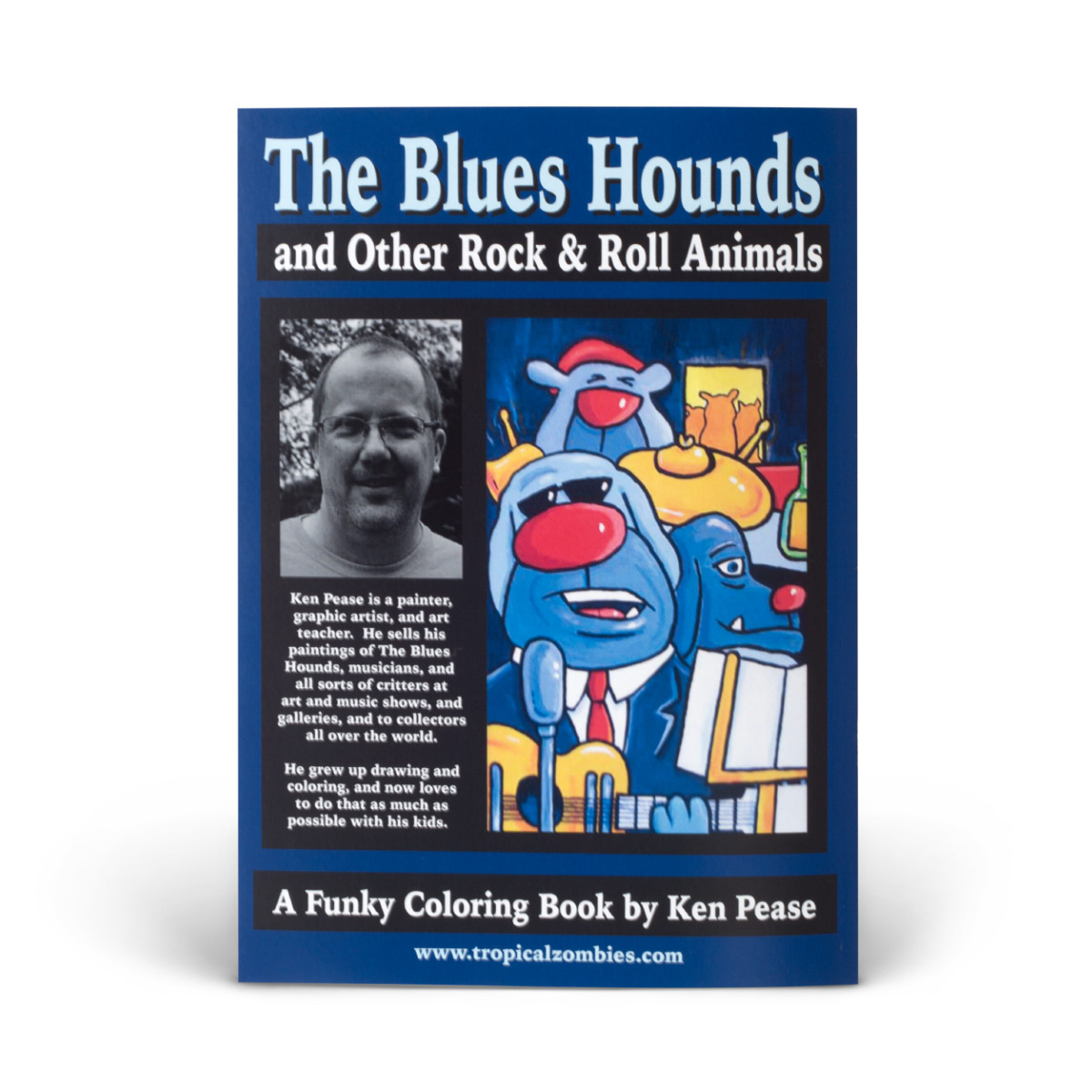 Blues Hounds Coloring Book