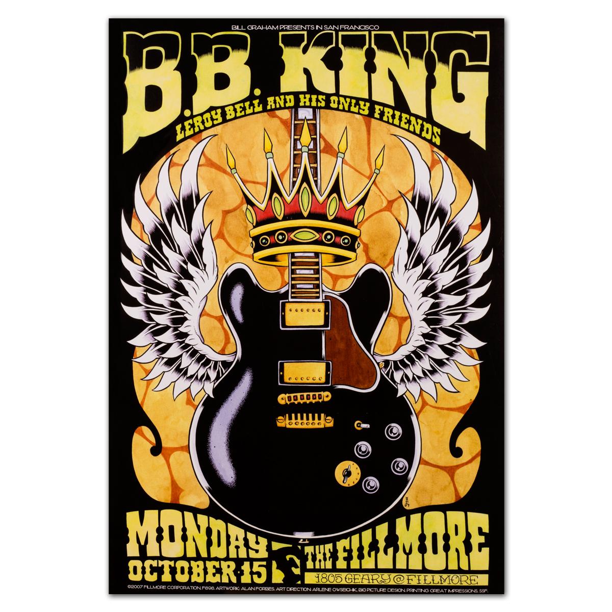 Fillmore - BB King 10/15/2007 Poster