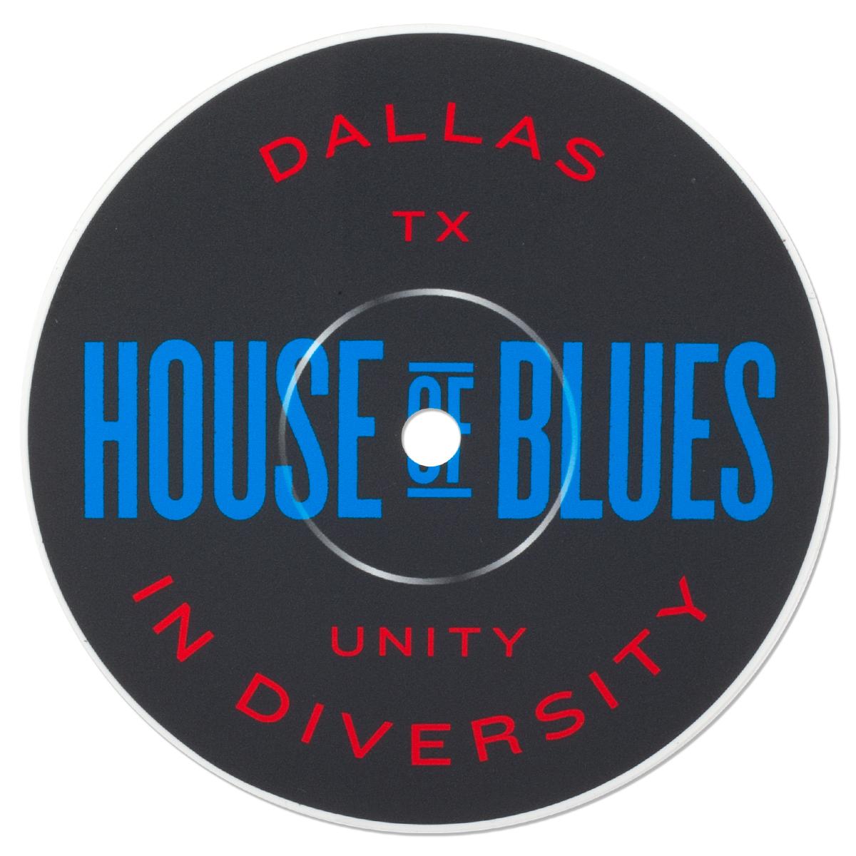 Record Label Sticker - Dallas