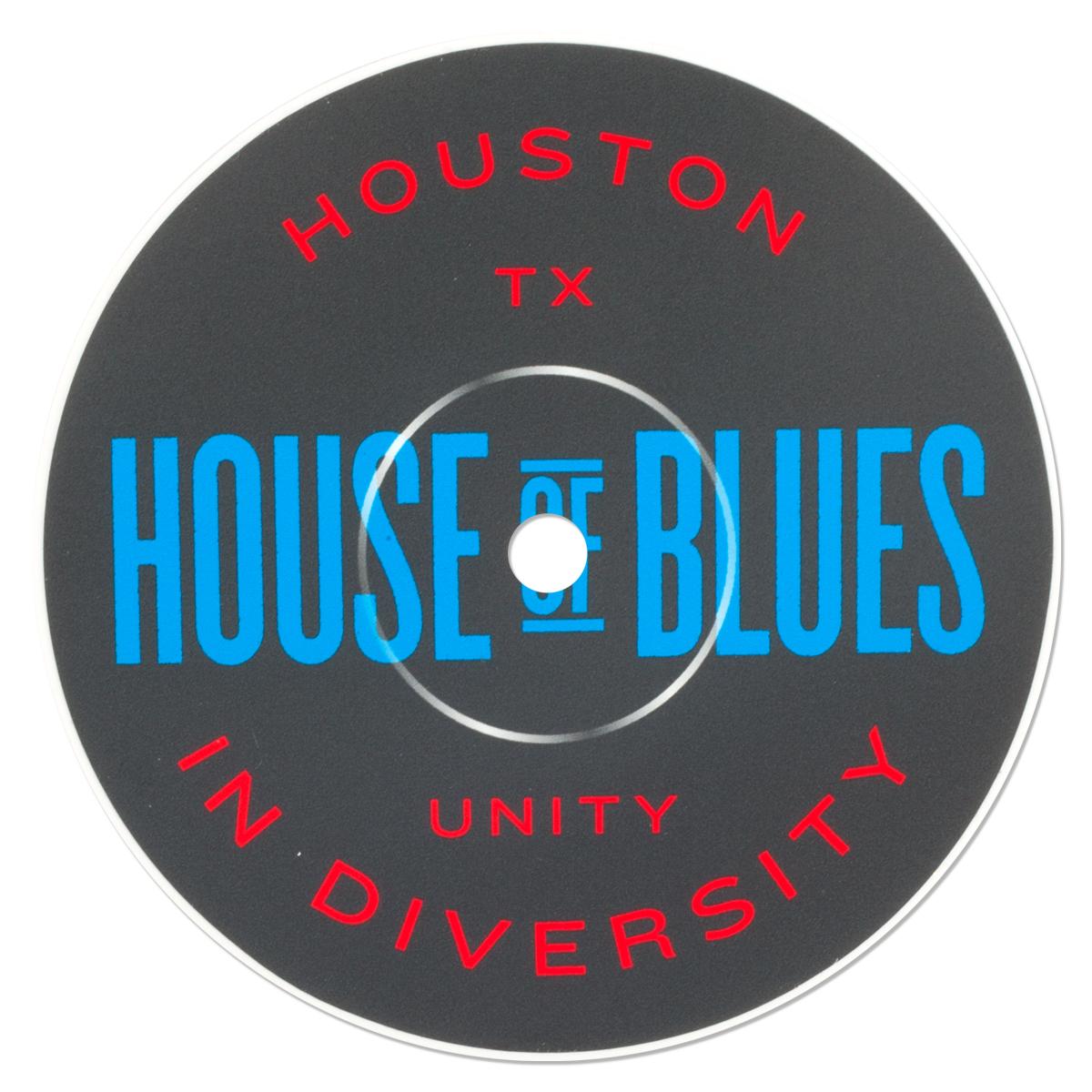 Record Label Sticker - Houston