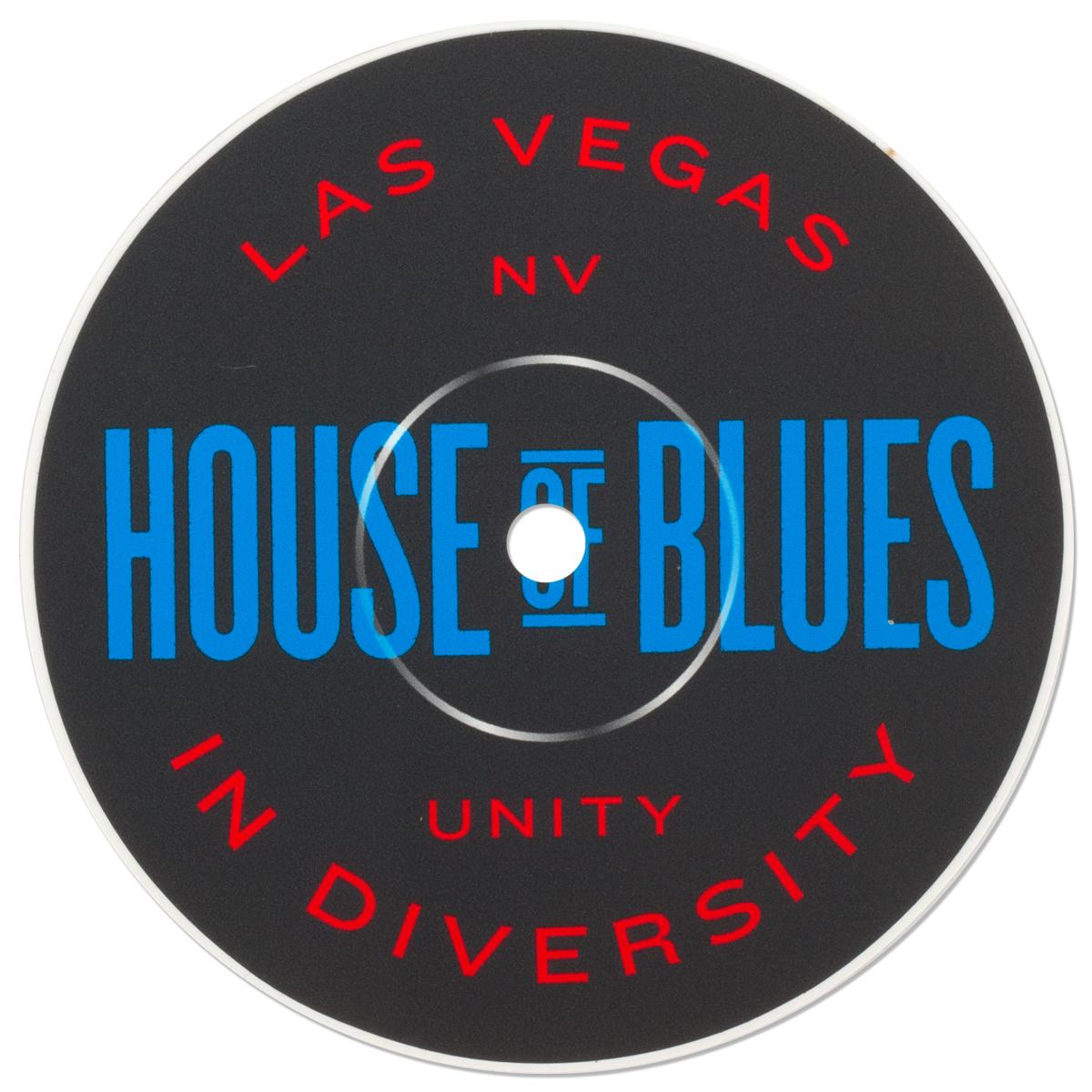 Record Label Sticker - Las Vegas