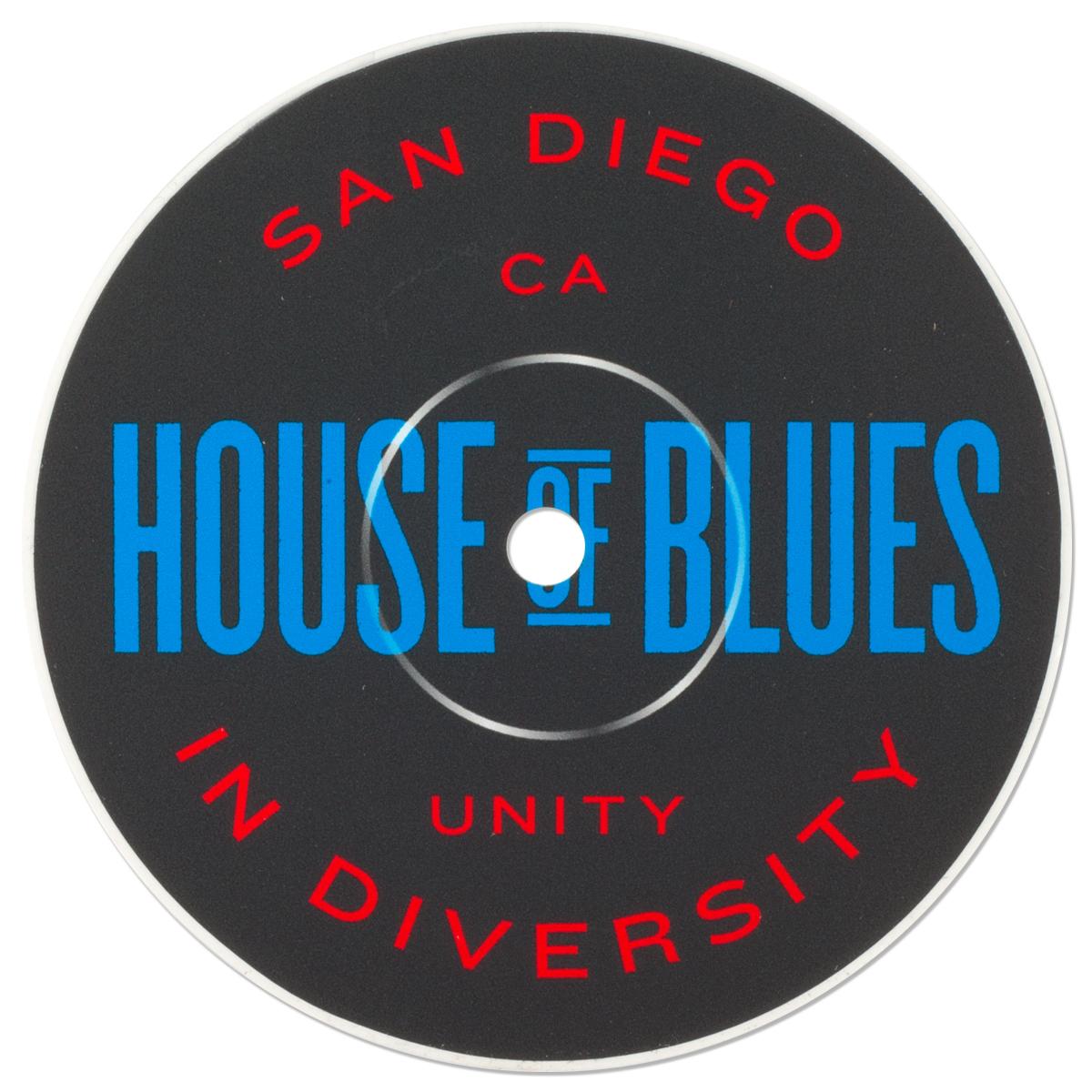 Record Label Sticker - San Diego