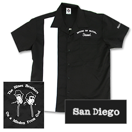 House of Blues Elwood Bowling Shirt - San Diego