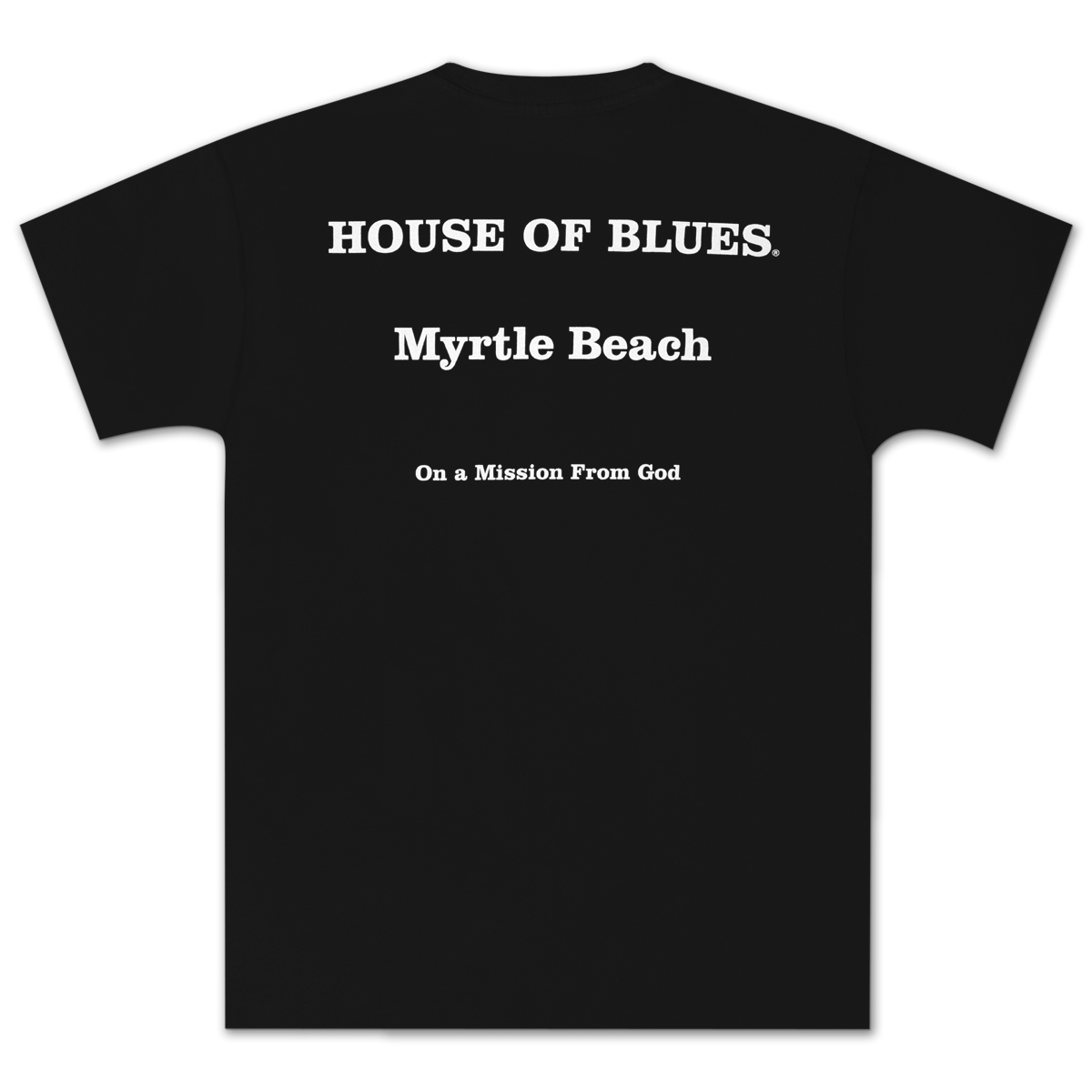 House of Blues Black J&E T-Shirt - Myrtle Beach