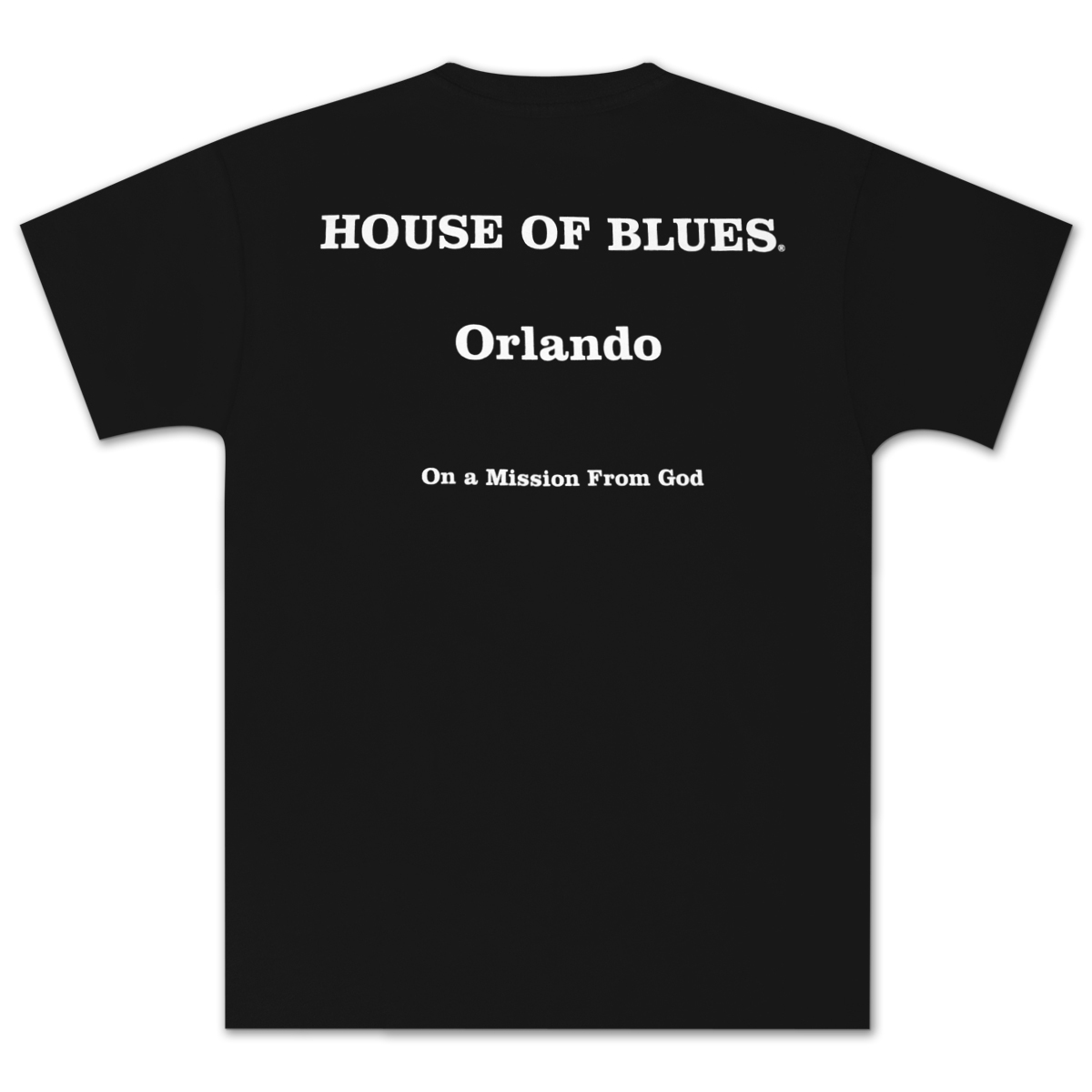 House of Blues Black J&E T-Shirt - Orlando