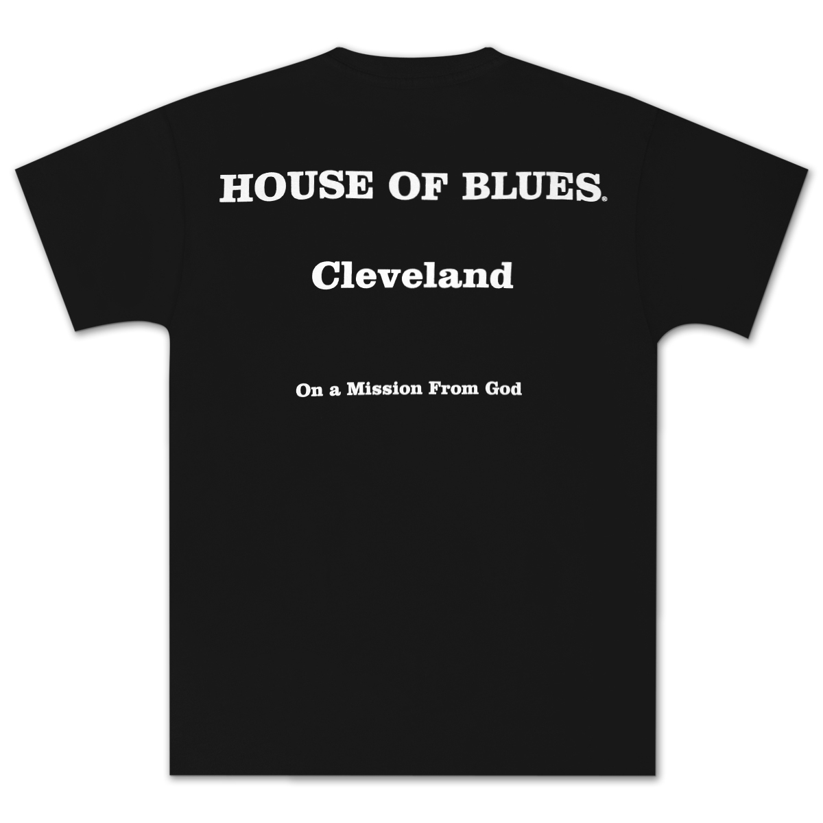 House of Blues Black J&E T-Shirt - Cleveland