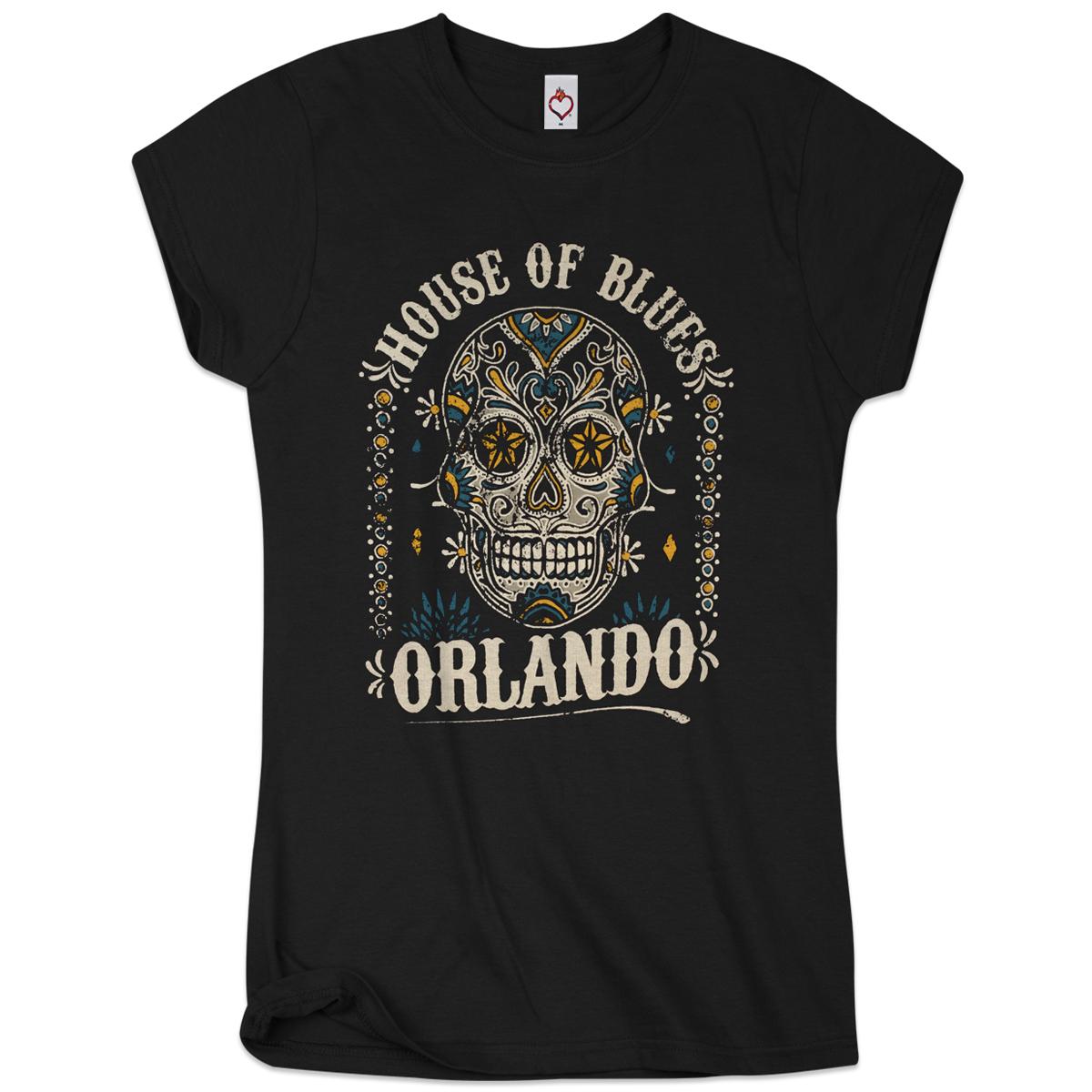 Sugar Skull Women's Tee - Orlando