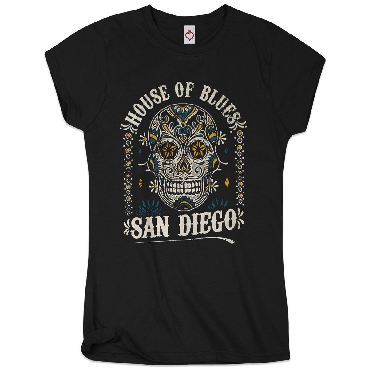 Sugar Skull Women's Tee - San Diego