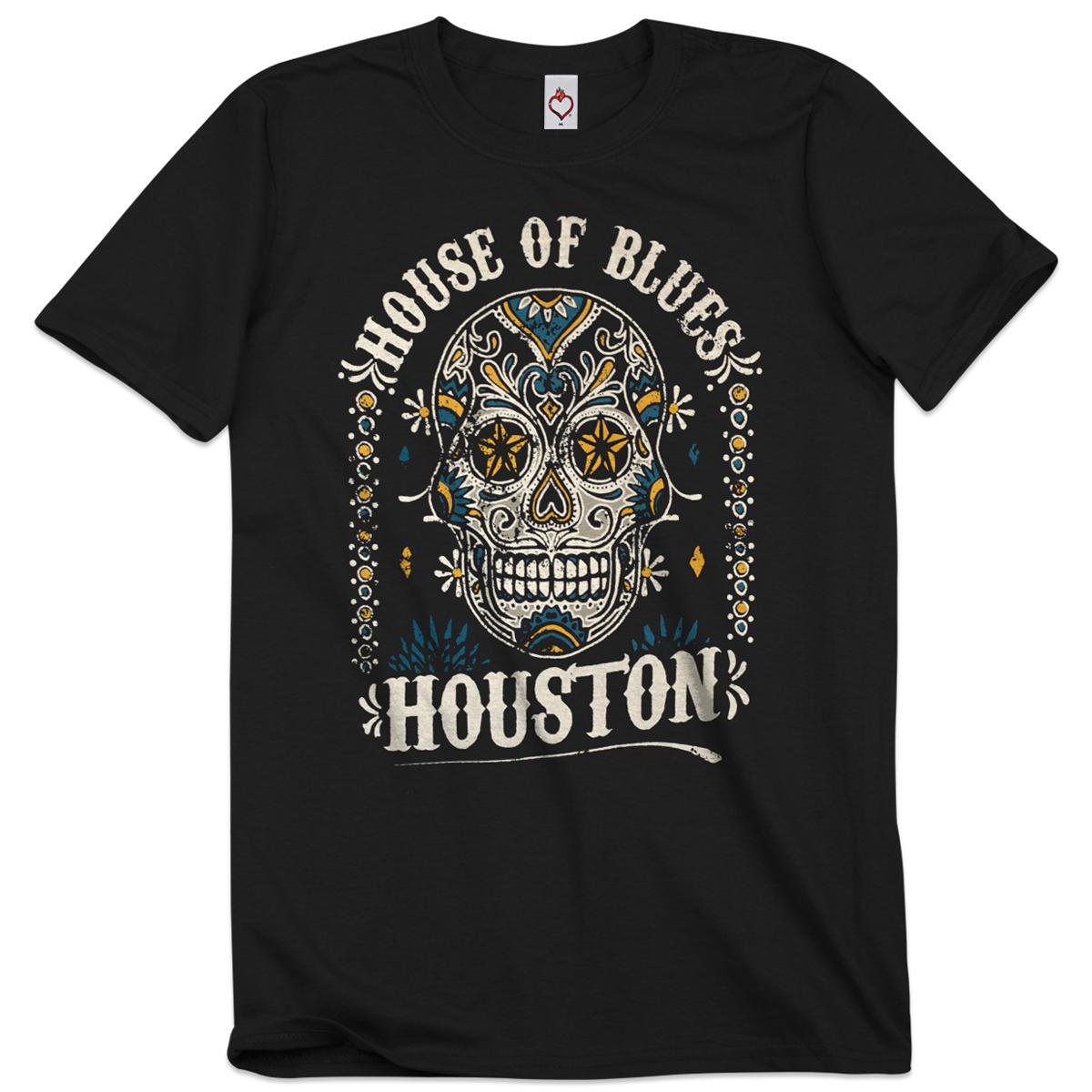 Sugar Skull Unisex Tee - Houston