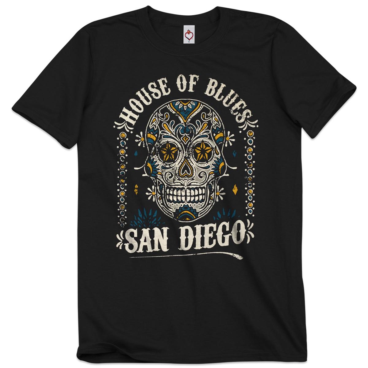 Sugar Skull Unisex Tee - San Diego